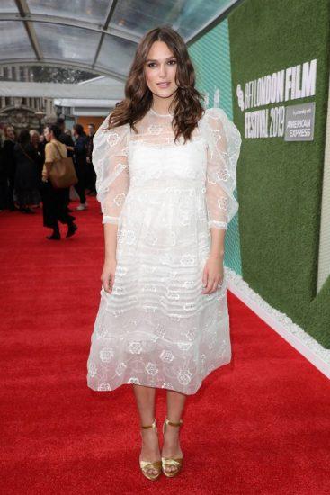Кира Найтли на кинофестивале BFI