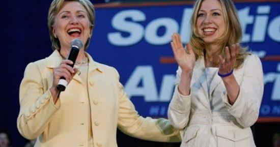 Хиллари и Челси Клинтон