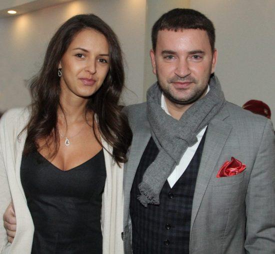 Леонид Закошанский с женой