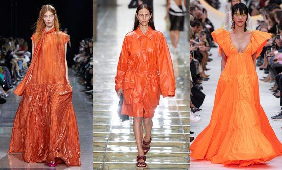 Оранжевые вещи