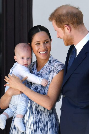 Принц Гарри с сыном Арчи