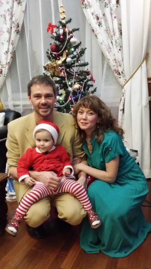 Сергей Губанов с семьёй