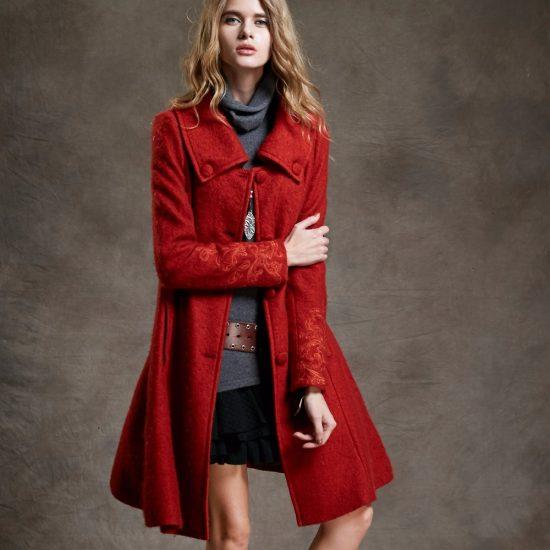 пальто на фигуру груша фото