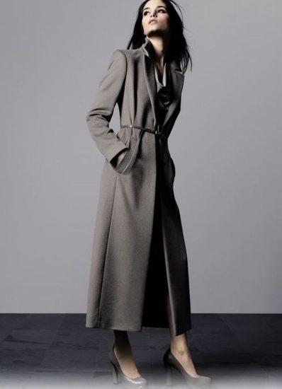 пальто на фигуру груша