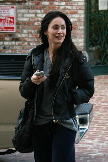 Меган Фокс без макияжа и фотошопа