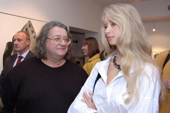 Александр Градский с женой Мариной