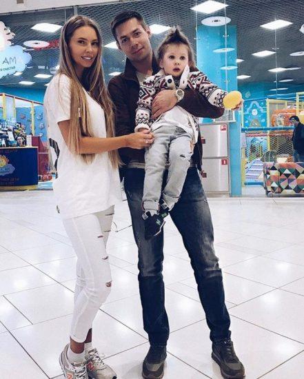 Стас Пьеха с женой
