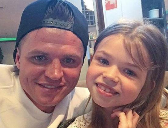 Тарасов Дмитрий с дочкой