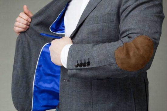 Подкладка твидового пиджака