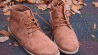 Замшевая обувь осенью