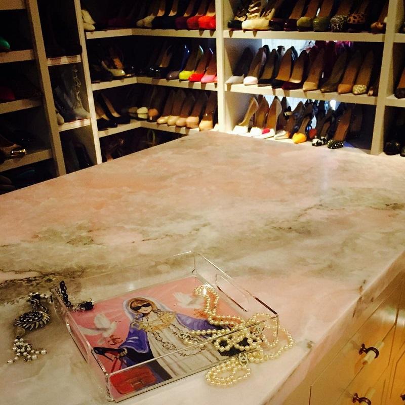 Обувная гардеробная Блейк Лайвли