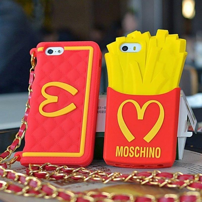 Чехол для телефона от Moschino в виде картошки фри